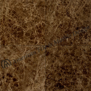 18X18 Emperador Dark Marked